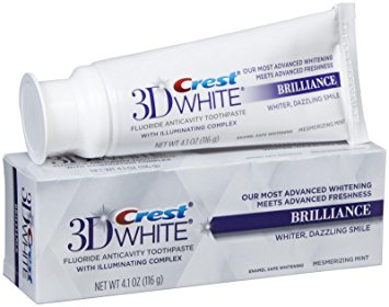 Crest 3D White Brilliance tandpasta - Tanden blekende tandpasta