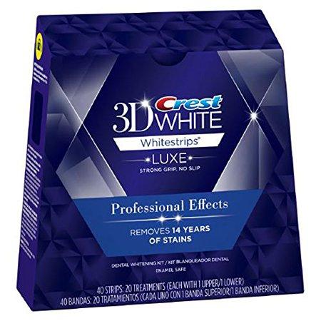 crest professionele effecten whitening strips - crest whitestrips