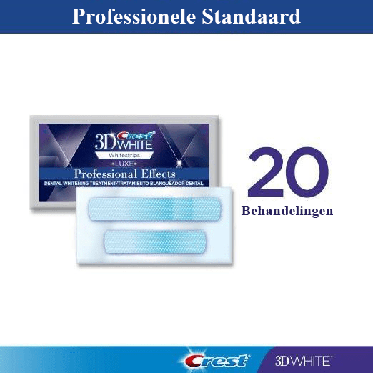 Professional Effects Whitestrips - 20 zakjes